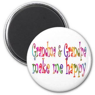 Grandma & Grandpa Magnet