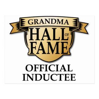 Grandma Hall of Fame Postcard