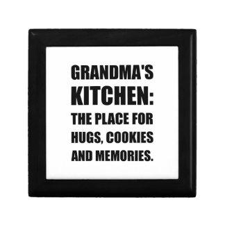 Grandma Hugs Cookies Memories Jewelry Boxes