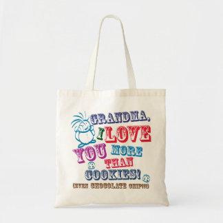 Grandma I Love You More Than Cookies!