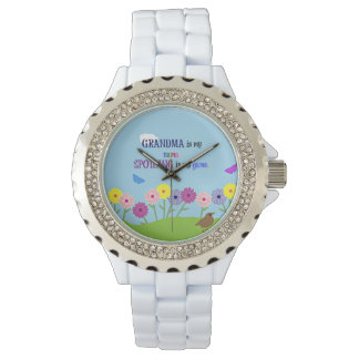 Grandma is my Name. Spoiling is my Game. Wristwatch