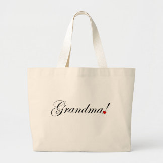 Grandma Large Tote Bag