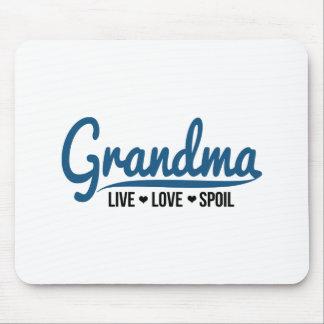 Grandma Live Love Spoil Mouse Pad
