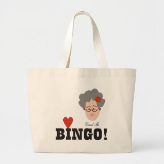 Grandma Loves Bingo Bag