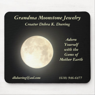 Grandma Moonstone Jewelry Mousepad