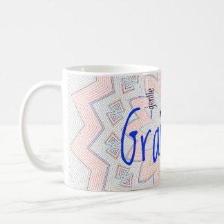 Grandma Mosaic Flower Mug