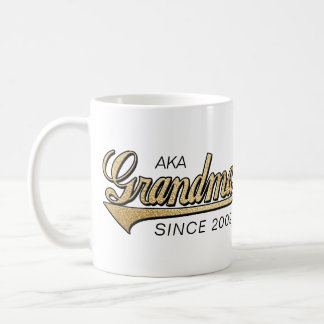"Grandma Mug ""AKA Grandma Since..."""