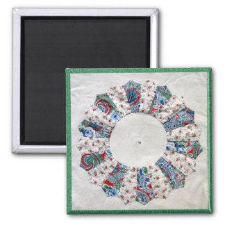 Grandma Nellie's Quilt - Block #! Magnet