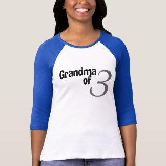Grandma Of 3 T-Shirt