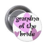 Grandma of the Bride Pins