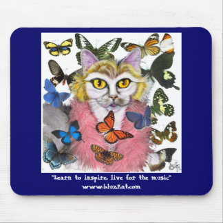 Grandma Purrrle's Inspirational Mousepad