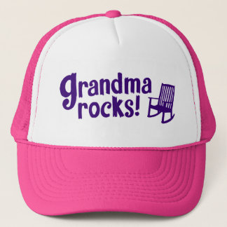 Grandma Rocks Trucker Hat