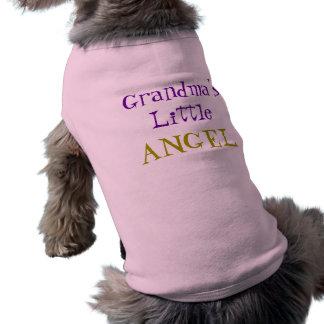 Grandma s Little Angel Pet Shirt