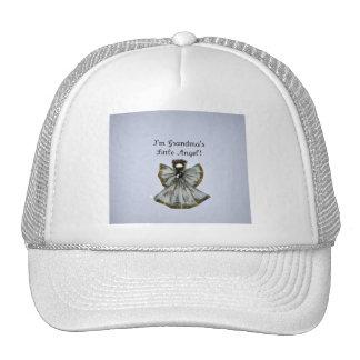 Grandma s little angel mesh hat