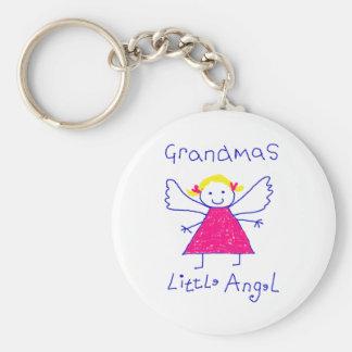 Grandma s Little Angel Key Chain
