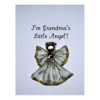 Grandma s little angel postcard