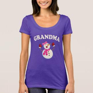 :  Grandma Snowman T-shirt Pajama Family Matching