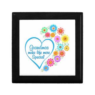 Grandma Special Heart Jewelry Box