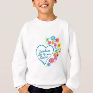 Grandma Special Heart Sweatshirt