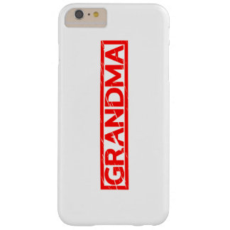 Grandma Stamp Barely There iPhone 6 Plus Case