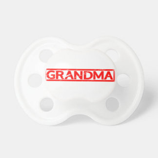 Grandma Stamp Pacifier