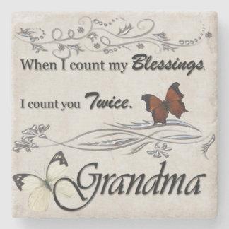 Grandma Stone Coaster