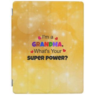 Grandma Super Power custom design iPad Cover
