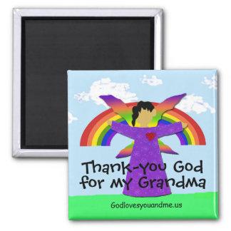 Grandma Thank-you Magnet