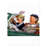 Grandma The Speed Queen Postcard
