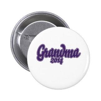 Grandma to be 2014 2 inch round button