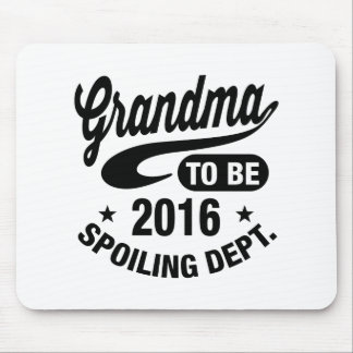 Grandma To Be 2016 Mouse Pad