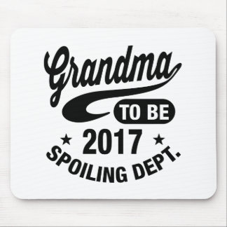 Grandma To Be 2017 Mouse Pad