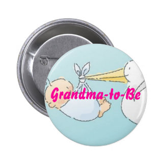 Grandma-to-Be 2 Inch Round Button