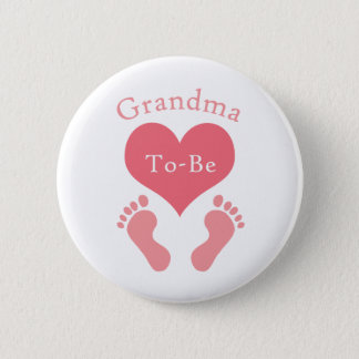 Grandma To-Be 2 Inch Round Button