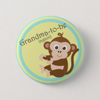 Grandma-to-be (again) 2 inch round button