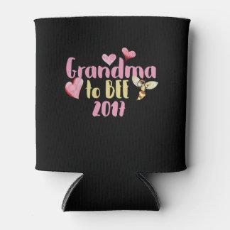 Grandma to bee 2017 can cooler