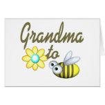 Grandma to Bee Greeting Card