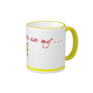 Grandma ur my sunshine coffee mug