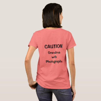 Grandma with Photographs T-Shirt