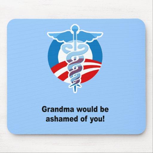Grandma would be ashamed ofyou mousepads