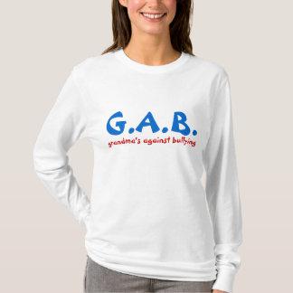 grandma's against bullying G.A.B. T-shirt