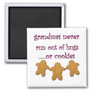 Grandmas Always Have Hugs Magnet