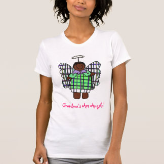 Grandma's Are Angels! (African American) T-shirt