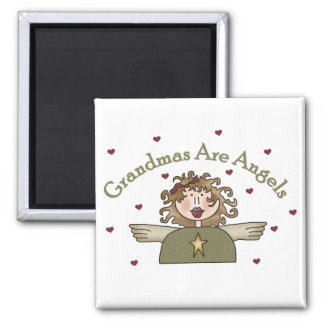 Grandmas Are Angels T-shirts and Gifts Magnet