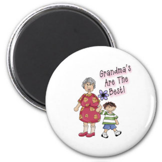 Grandmas Are The Best Magnet