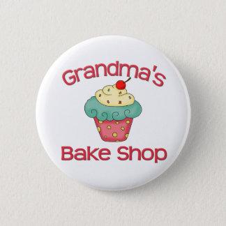 Grandma's bake shop 2 inch round button