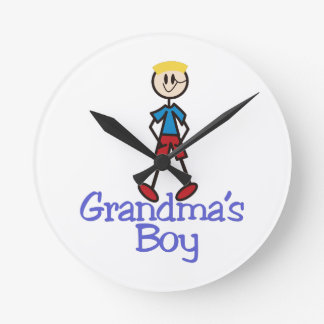 Grandmas Boy Wallclock