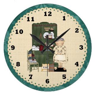 Grandma's Country Kitchen Clock