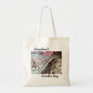 Grandma's Crochet Bag - Personalized Tote