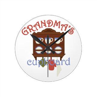 Grandmas Cupboard Clock